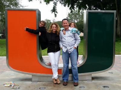 Levine Family at University of Miami
