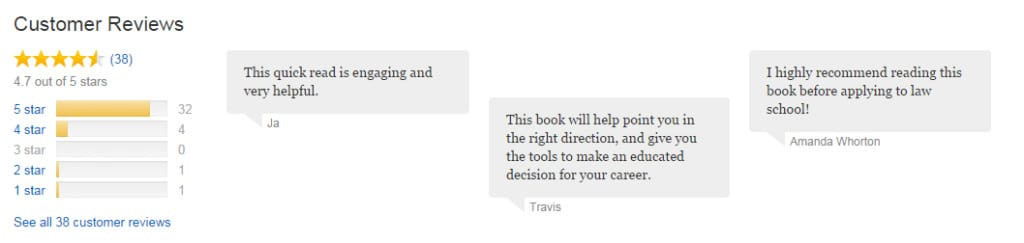 Book Customer Reviews