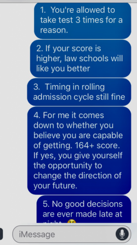 5 Keys in the Admissions Process